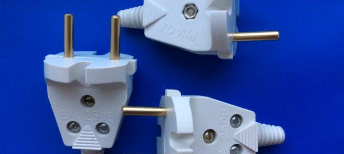 В6-005 Вилка электрическая разборная     Серия PIV