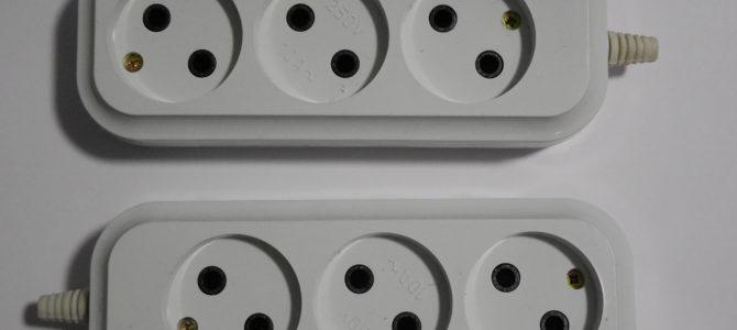 РПА10-002 Колодка электрическая для удлинителей. Серия PIV