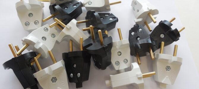 В6-001 и В6-002 Вилка электрическая разборная. Серия PIV